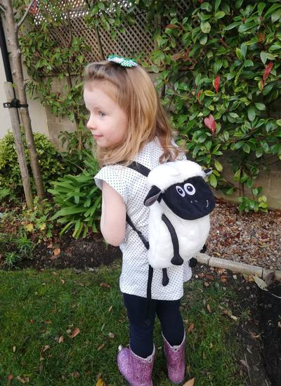 Flaherty Flock Plush Backpack
