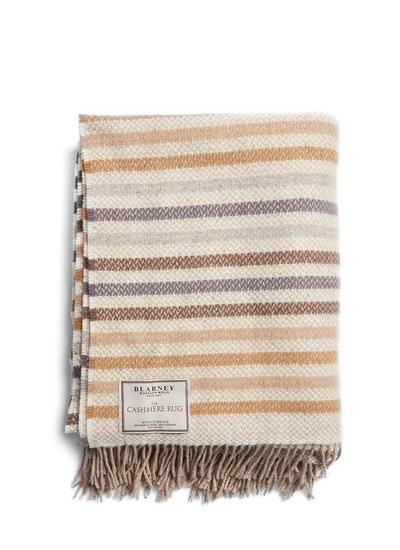 For The Love Of Stripes Wool Cashmere Throw