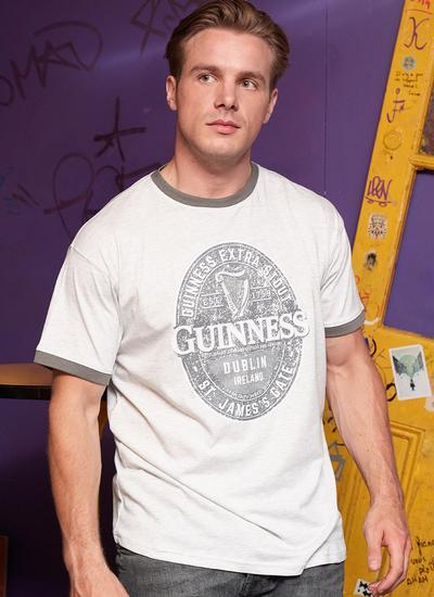 Guinness Official Label T-Shirt