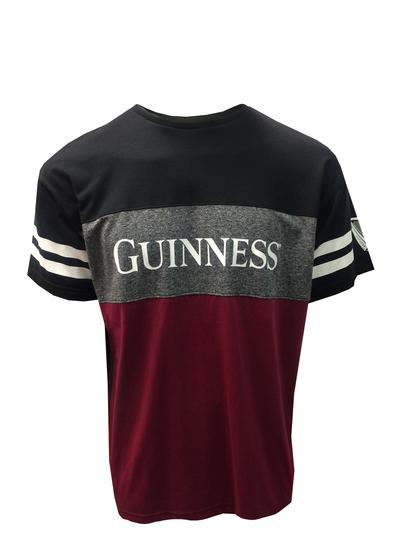Guinness Panel Tape Sleeve T-Shirt