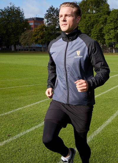 Guinness Sublimated Full Zip Performance Jacket