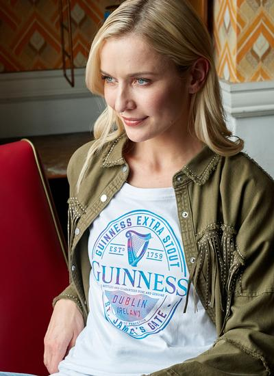 Guinness Label T-Shirt