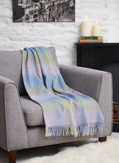 Harmonious Heather Lambswool Throw