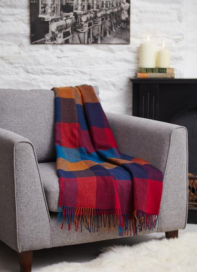 Harriet Lambswool Throw