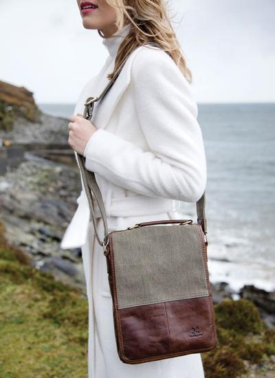 Heritage Tweed Satchel Bag