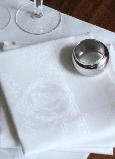 Celtic Linen Napkins Set