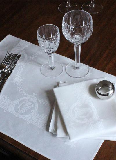Celtic Linen Napkins & Placemats Set of 4