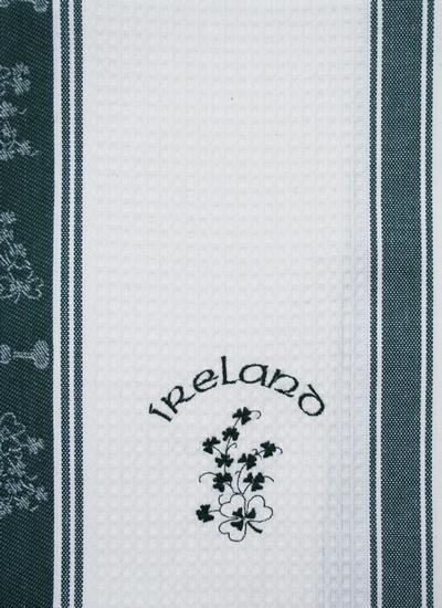 Ireland Embroidered Kitchen Towels Set of 2
