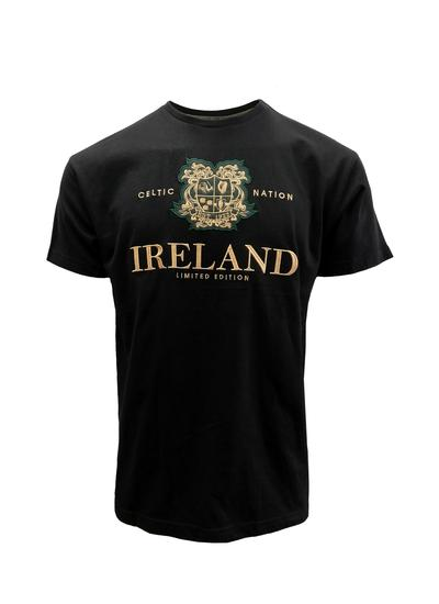Ireland Limited Edition Celtic Nation Black T-Shirt