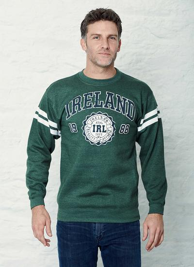 Ireland Stripe Sleeve Sweatshirt