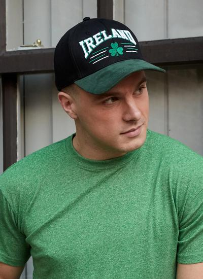 Ireland Two Tone Shamrock Baseball Cap