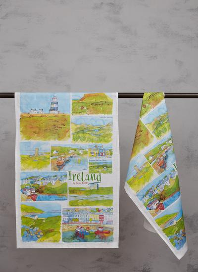 Ireland Kitchen Towels Set of 2