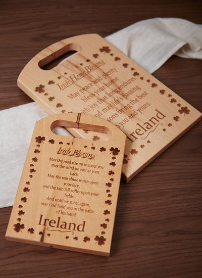 Irish Beech Chopping Boards With Blessings