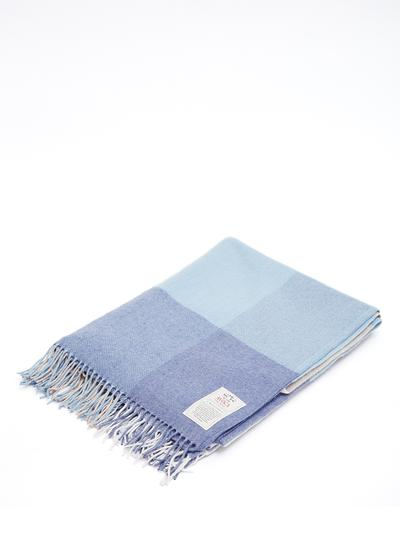 Irish Sky Cashmere Throw