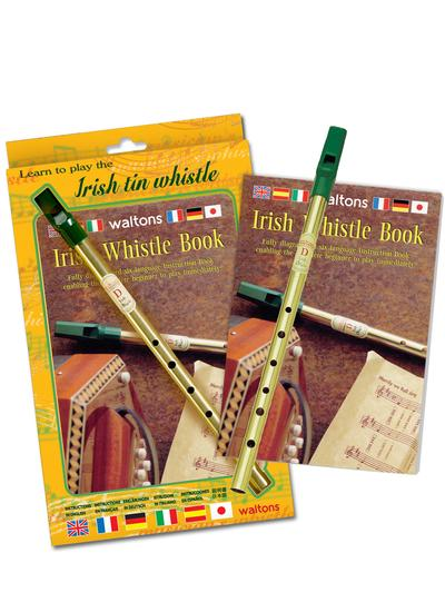 Irish Tin Whistle & Book Pack