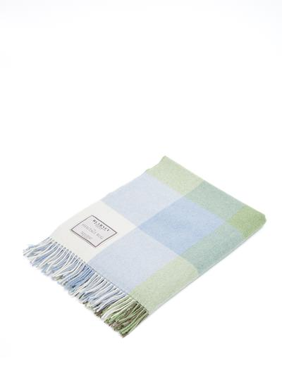 Irish Wildlife Lambswool Throw