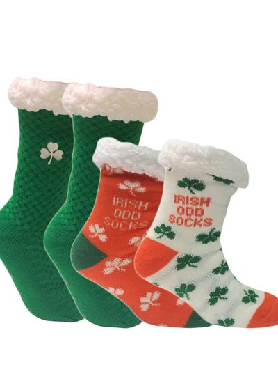 Set of 2 Irish Slipper Socks