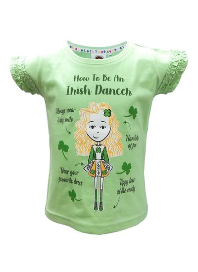 Irish Dancer Frill T-Shirt
