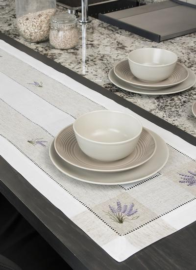 Kinsale Lavender Table Runner