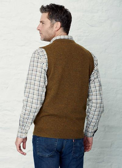 Lambswool Slipover Sweater Vest
