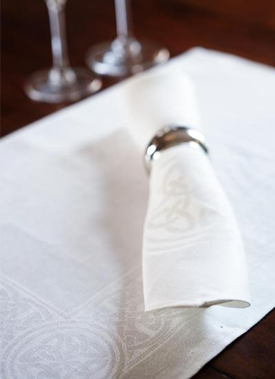 Colmcille Irish Linen Napkins & Placemats Set