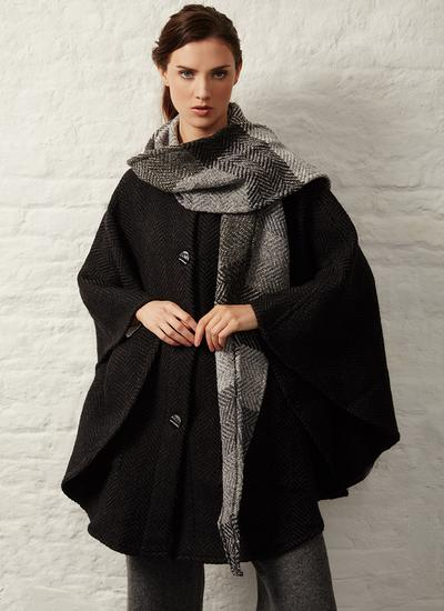 Maeve Killybeg Black Cape