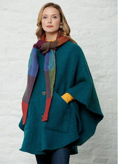 Maeve Killybeg Jade Cape
