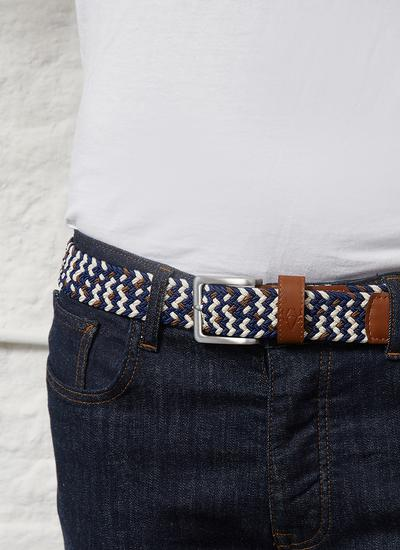 Men's Stretch Braided Belt