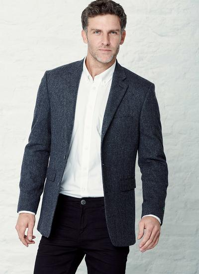 Men's Tweed Jacket - Short