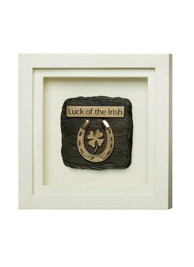 Luck of The Irish Framed Ornament