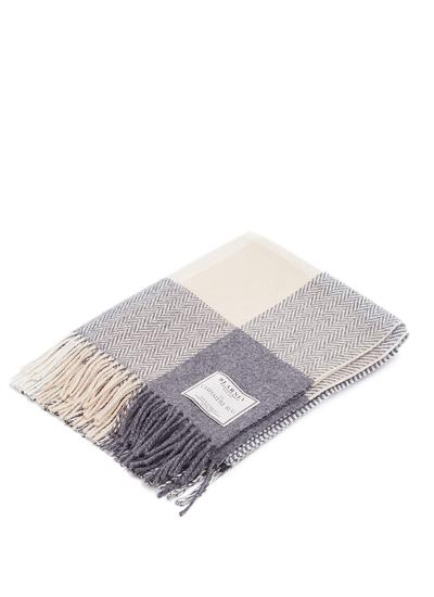 Patchwork Wool Cashmere Throw