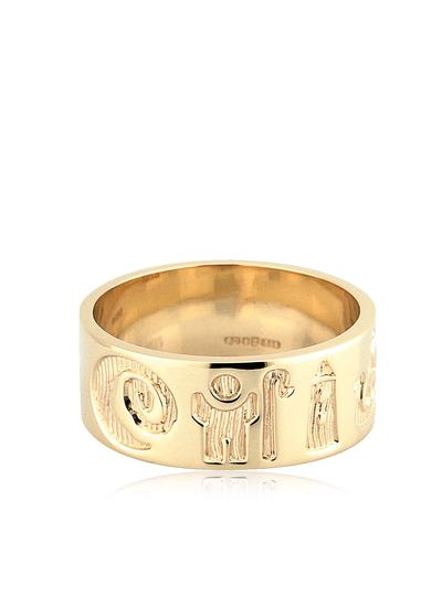 14K Gold History Of Ireland Ring