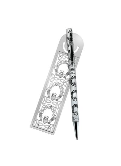 Claddagh Pen & Bookmark Set