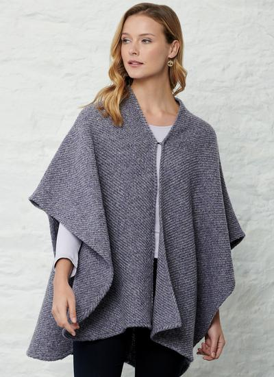 Sandra Wool Cape