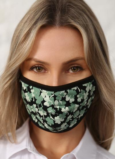Shamrock Double Layer Cotton Face Masks Set of 5