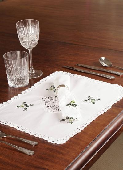 Shamrock Napkins Set of 6