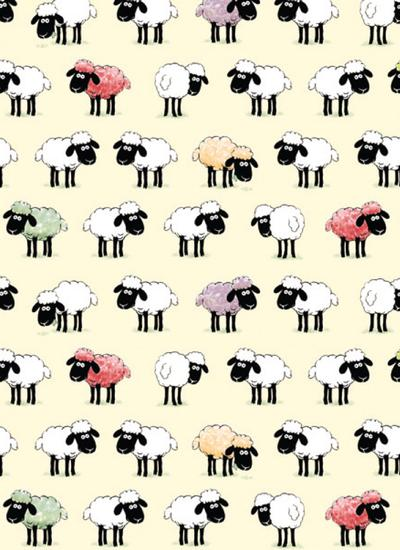 Sheepish Irish Kitchen Towel