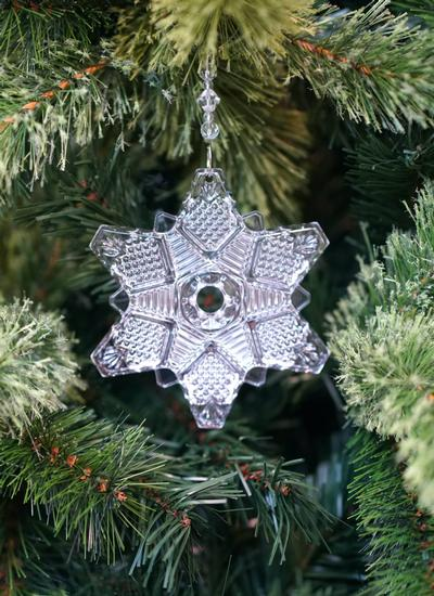 Waterford Crystal Snowcrystal Ornament