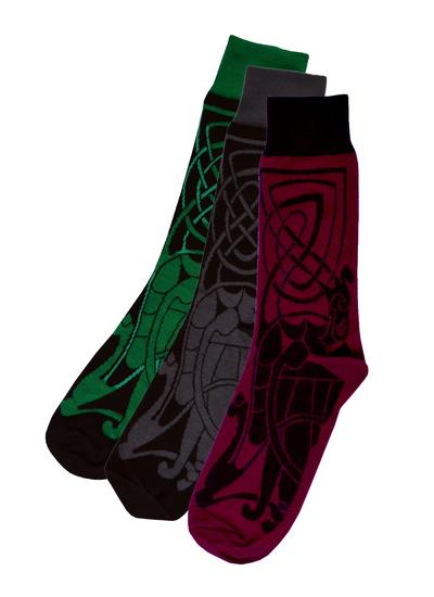 Set of 3 Men's Celtic Socks