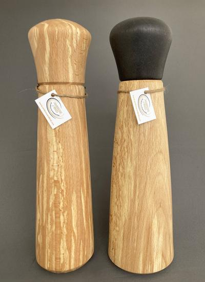 Spalted Beech Salt & Pepper Mill Set
