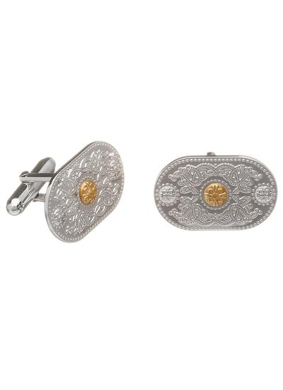 Sterling Silver Arda Small Cufflinks