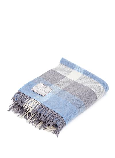 Stormy Waters Wool Cashmere Throw