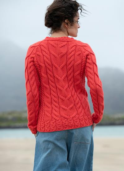 Supersoft Merino Wool Cable Sweater