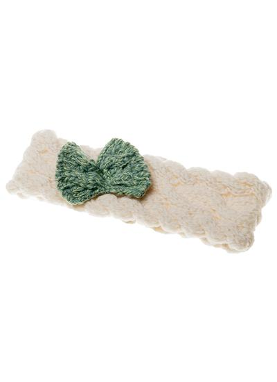 Supersoft Wool Baby Contrast Headband