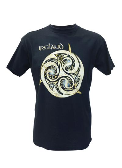 Men's Celtic Knot Navy T-Shirt