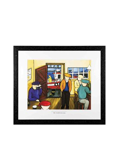 The Harbour Bar Framed Print