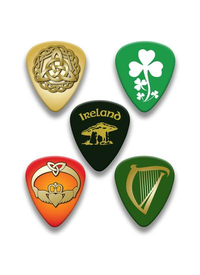 Traditional Irish Guitar Picks