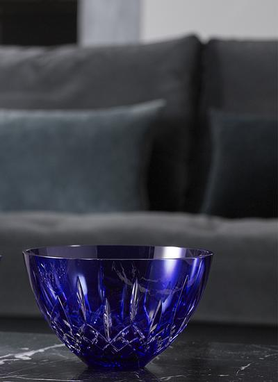 Waterford Crystal Lismore 8'' Blue Bowl