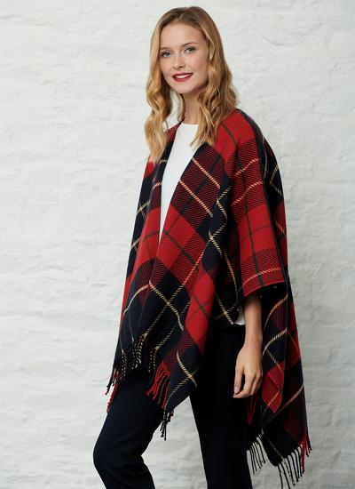 Wallace Red Tartan Wrap