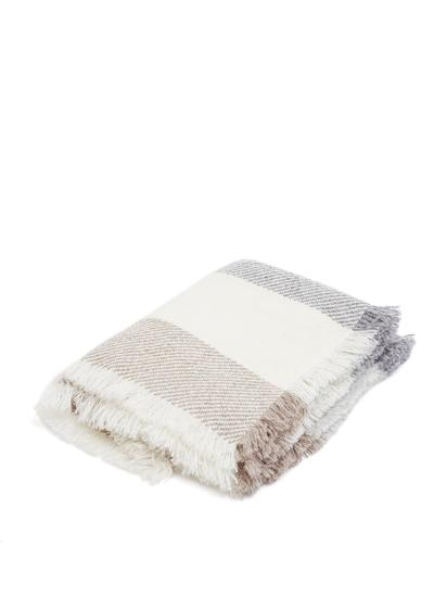 Wool Stripe Throw